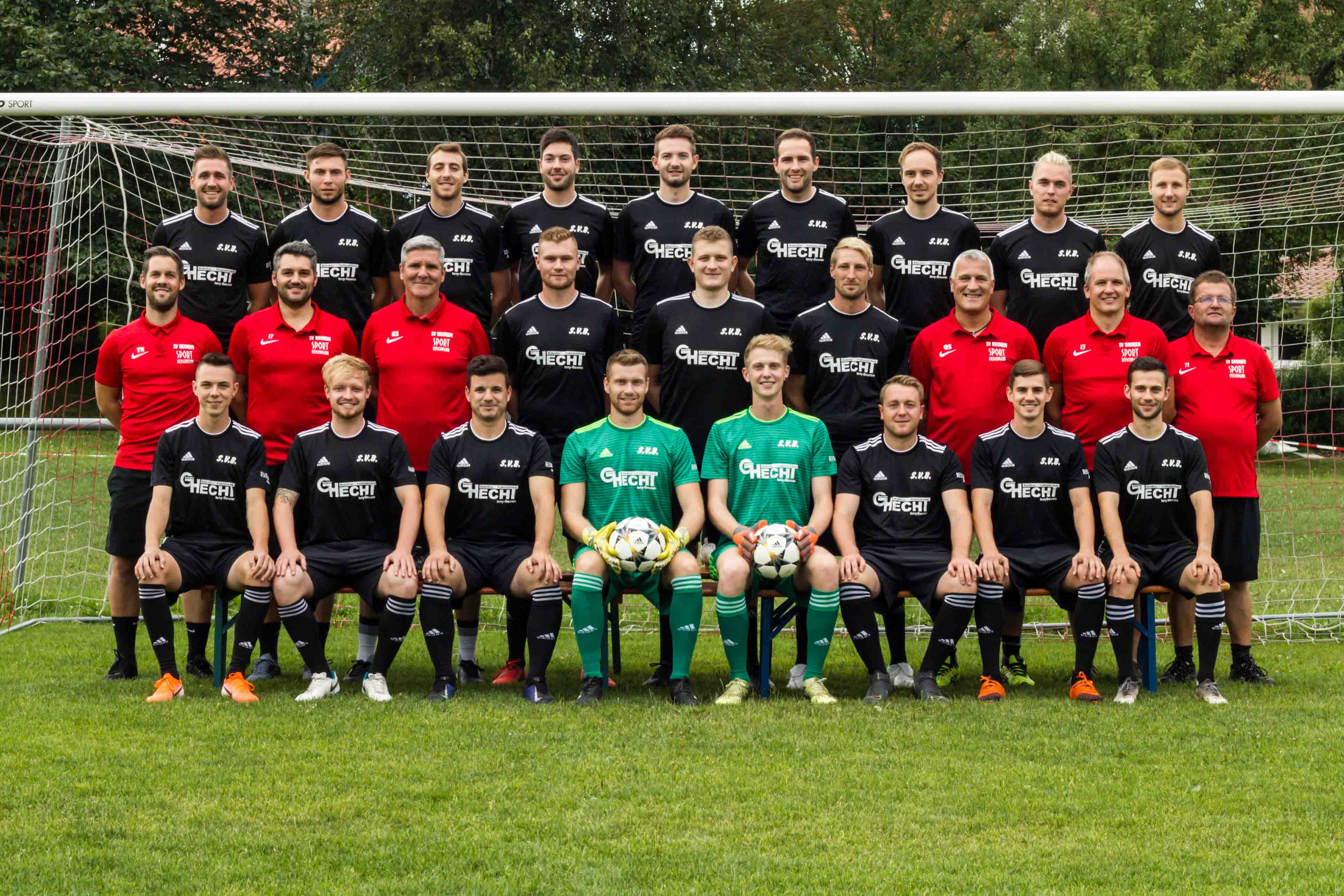 Kader SVB Bezirksliga